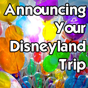 photo regarding You're Going to Disneyland Printable known as Pronouncing Your Disneyland Getaway Disneyland Day by day
