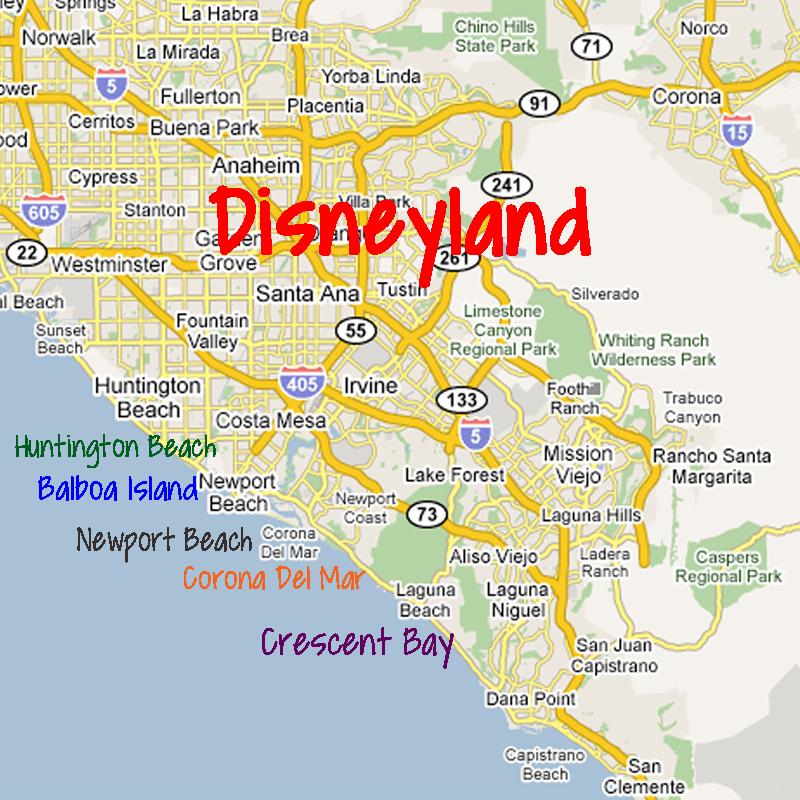 Beach Destinations Near Disneyland