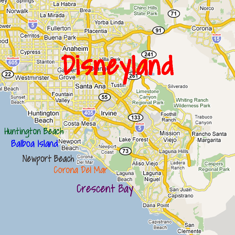 Disneyland Locations World Map.5 Of The Best Beach Destinations Near Disneyland Disneyland Daily