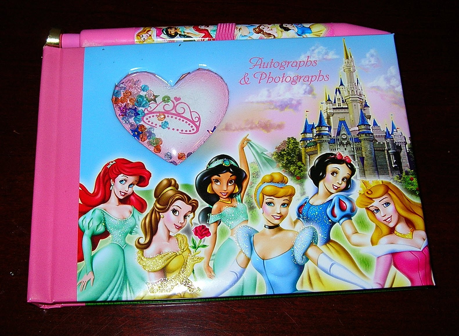 Walt Disney World Autograph Book