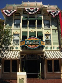 The Main Street Magic Shop at Disneyland