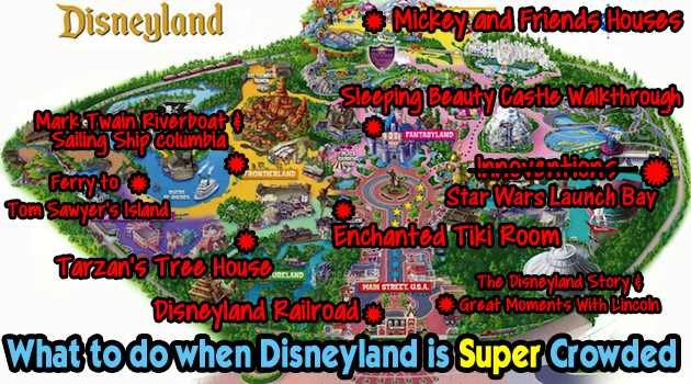 What to do when disneyland is super crowded disneyland daily dlr busy line map copy copy publicscrutiny Images