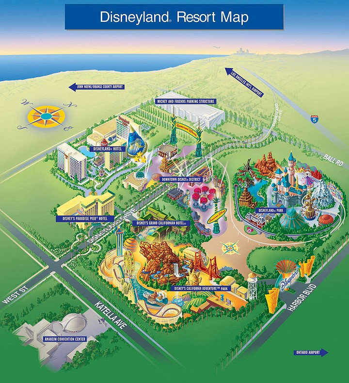 Disneyland Resort Map02