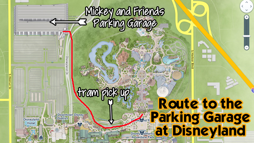 Mistakes ive made while planning and visiting disneyland map to the garage publicscrutiny Image collections