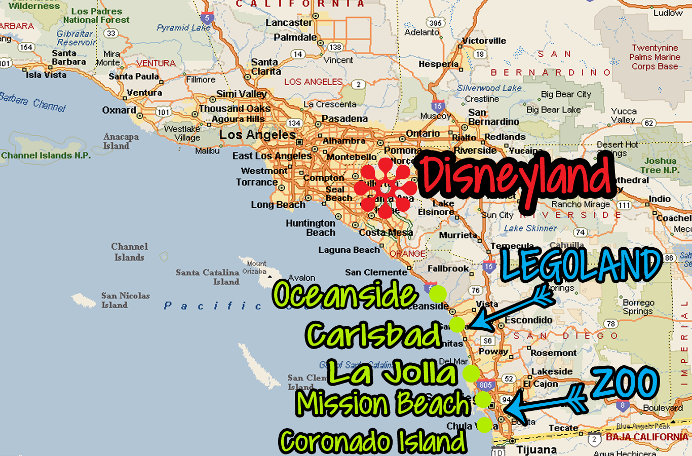 All About San Diego Travel to What to Do The Zoo and More – Tourist Attractions Map In San Diego