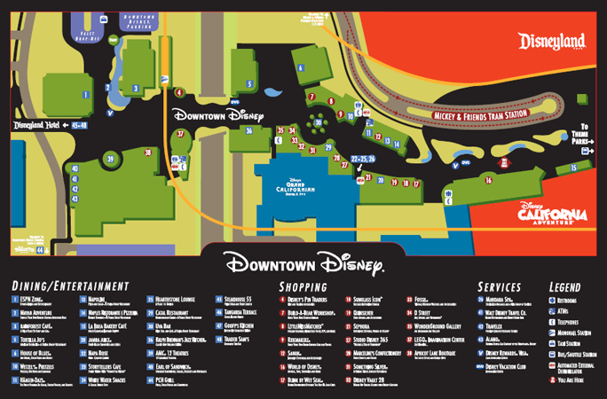 Downtown disney anaheim map pdf my blog the ultimate guide to downtown disney sciox Image collections