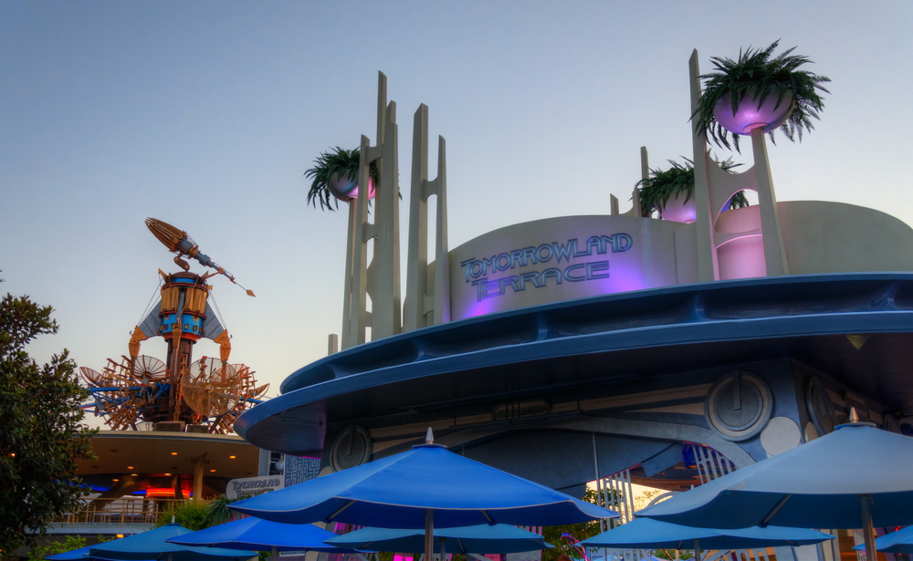 Twilight at the Tomorrowland Terrace by Tours Departing Daily