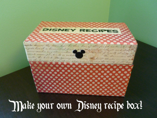 disney-recipe-box