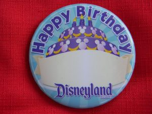 Celebrate A Birthday At Disneyland