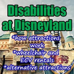 Disabilities at disneyland disneyland daily for Motorized scooter rental disneyland