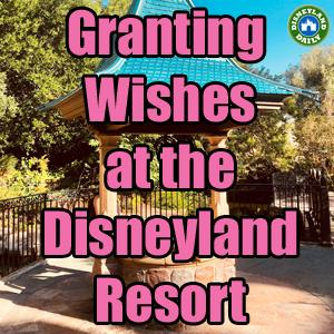 Granting Wishes at the Disneyland Resort | Disneyland Daily